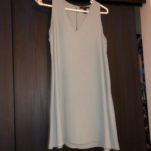 A seafoam tank top dress